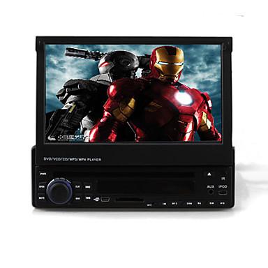 7 palcový 1DIN auto DVD přehrávač s GPS iPod bluetooth dvb-t RDS 3d