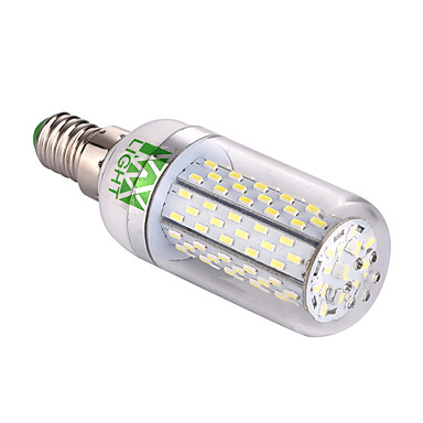 ywxlight® e14 ledet maislys t 120 smd 3014 550-650 lm varm hvit kald hvit dekorativ 85-265v