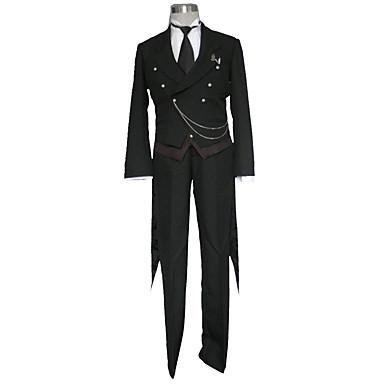 Inspirado por Black Butler Cosplay Animé Disfraces de cosplay Trajes Cosplay Un Color Chalecos / Camisas / Pantalones Para Hombre Disfraces de Halloween