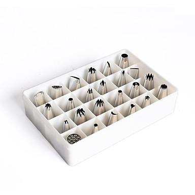 Ferramentas bakeware Aço Inoxidável / Metal Anti-Aderente Bolo Sets de Pastelaria
