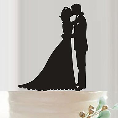 اكسسوار الكيك أكريليك زينة الزفاف عيد ميلاد / حفلة الزفاف الربيع / الصيف / الخريف