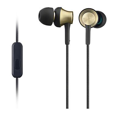 MDR-EX650AP No ouvido Com Fio Fones Armadura equilibrada Aluminum Alloy Celular Fone de ouvido Com Microfone Fone de ouvido