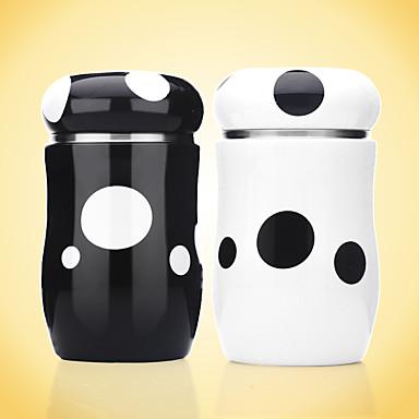 カップ、グラス ステンレス ティーカップ / ウォーターボトル / マグカップ ガールフレンドのギフト / デコレーション 1 pcs / コーヒー / 茶色
