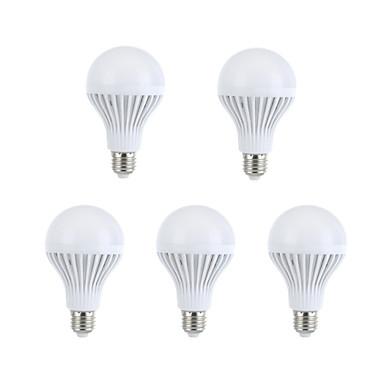 330-360 E26/E27 Ampoules Globe LED A60(A19) 15 LED SMD 5630 Décorative Blanc Chaud Blanc Naturel 2700-3200/6000K AC 100-240V