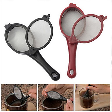 2ST Reise Kaffee Tee Filtergewebe Brüheinheit Löffel brauen stecken tool