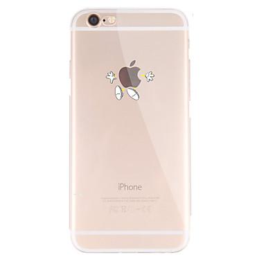 ケース 用途 Apple iPhone X iPhone 8 iPhone 8 Plus iPhone 5ケース iPhone 6 iPhone 7 パターン バックカバー Appleロゴアイデアデザイン ソフト TPU のために iPhone X iPhone 8