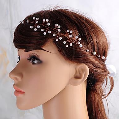 模造真珠の頭の鎖のヘッドピース古典的な女性のスタイル