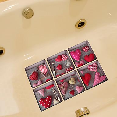 Autocolantes de Parede Decorativos - Autocolantes de Aviões para Parede Formas Banheiro / Removível
