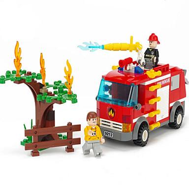 Actionfigurer og kosedyr / Byggeklosser for Gift Byggeklosser Modell- og byggeleke Trailer ABS 5 til 7 år / 8 til 13 år / 14 år og oppover
