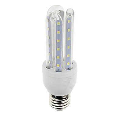 7W E26/E27 LEDコーン型電球 T 36 SMD 2835 600 lm 温白色 / クールホワイト AC 85-265 V 1個