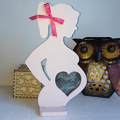 El nuevo marco de madera de la foto de la boda artículos de equipamiento accesorios de la boda marco de madera de la foto mujeres embarazadas