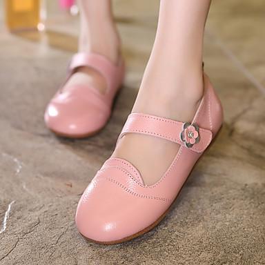 Chica Zapatos Cuero Confort Bailarinas para Amarillo / Rojo / Rosa