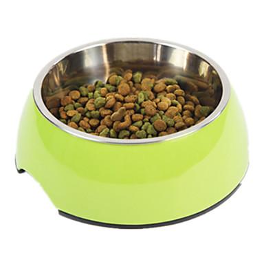 犬 フィーダ ペット用 ボウル&摂食 防水 携帯用 グリーン