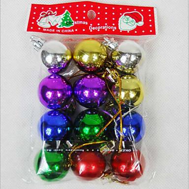 12kpl elektrolyyttistä christmas pallo riipus joulua