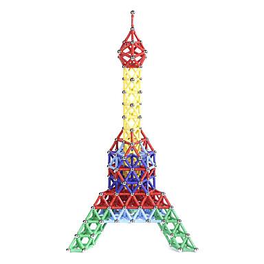 abordables Blocs Magnétiques-Blocs Magnétiques Bâtons Magnétiques Carreaux magnétiques 157 pcs Jeux parent-enfant Tour Eiffel Magnétique Nouveautés Garçon Fille Jouet Cadeau / Blocs de Construction