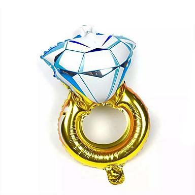 voordelige Ballonnen-Ballonnen Alles voor de feestdagen Diamant Aluminium Bruin Groen Voor jongens Voor meisjes 5 tot 7 jaar