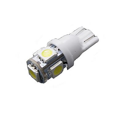 50 kpl puhtaan valkoinen T10 5-SMD 5050 6000K rekisterikilven led valo W5W 168 194 2825
