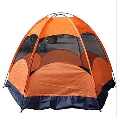 5-7人 シェルター&タープ テント ダブル キャンプテント アウトドア 通気性 防水 速乾性 抗紫外線 防雨 のために 釣り ビーチ 屋外 旅行 グラスファイバー