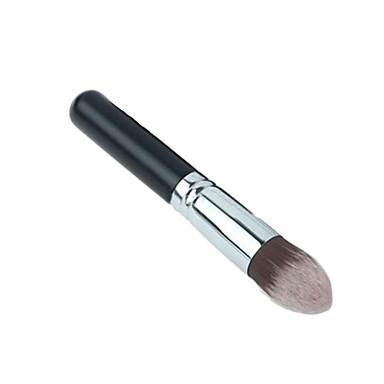 1pcs Professional Makeup Bürsten Grundlagen Pinsel Nylon Pinsel Professionell Holz Gesicht Mittelgroße Pinsel