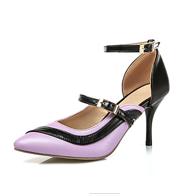 Damen-High Heels-Kleid Lässig-Kunstleder-Stöckelabsatz-Andere-