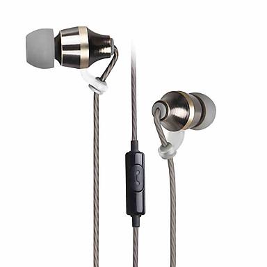 Gorsun GS-C7 耳の中 ケーブル ヘッドホン 動的 Aluminum Alloy 携帯電話 イヤホン マイク付き ヘッドセット