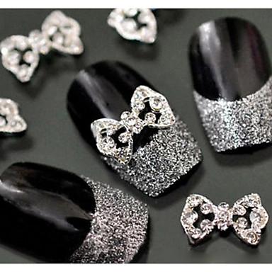 10 pcs Brillantes arte de uñas Manicura pedicura Diario Glitters / Metálico / Moda