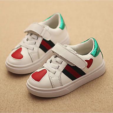Mädchen-Sneaker-Lässig-PU-Flacher Absatz-Komfort-