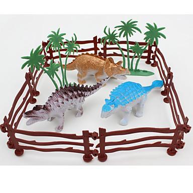 Tue so als ob du spielst Modellbausätze Spielzeuge Tyrannosaurus Dinosaurier 3D Tiere Simulation Kunststoff Jungen 4 Stücke