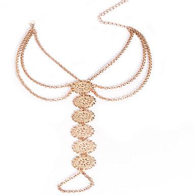 女性のは、合金アンクレットの宝石1個を言います