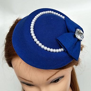 Tüll Feder Hüte Kopfbedeckung Hochzeitsgesellschaft elegant femininen Stil