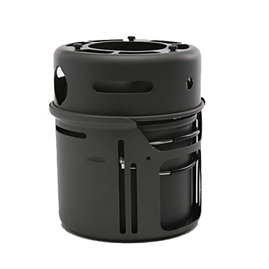 ALOCS طقم أدوات الطهي للتخييم / قدر للتخييم / مقلاة للتخييم مجموعات الفولاذ المقاوم للصدأ / نحاس في الهواء الطلق إلى المشي لمسافات طويلة / تخييم / الخارج