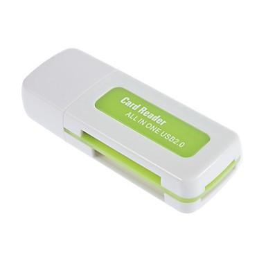 USB 2.0 SDHC SDXC Micro SD-kortin lukija monitoimilaite SD / microSD / tf trans-flash-kortti / m2 / ms-muisti / MMC