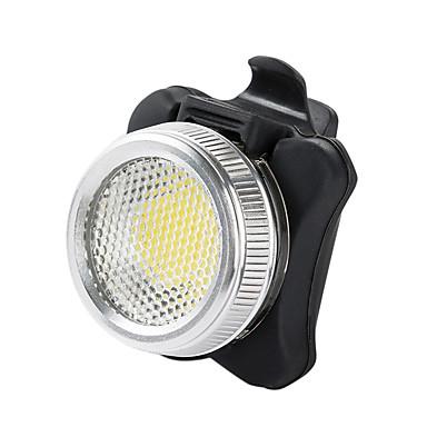 Pyöräilyvalot Polkupyörän jarruvalo LED - Pyöräily Hälytys Ladattava Vedenkestävä Hätä Litium-akku 50 Lumenia USB Akku Kylmä valkoinen