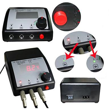 Strømadapter LCD / Verktøy Tattoo sak 80-250V V