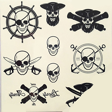 Tattoo Aufkleber Non Toxic MusterDamen Herren Erwachsener Teen Flash-Tattoo Temporary Tattoos