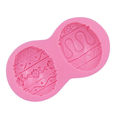 Mini Easter Egg 3D  Silicone Mold Chocolate Fondant Sugar Molds Cake Decorating Mould Pastry Cooking Tools SM-008