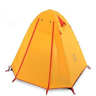 Naturehike 2 henkilöä Teltta Suojat ja pressut Kaksinkertainen teltta Yksi huone Retkeilyteltat Hyvin ilmastoitu Vedenkestävä Nopea