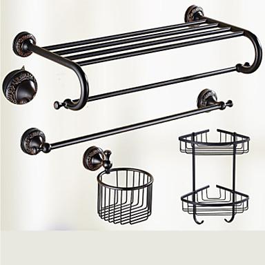 浴室用品セット クイックリリース アンティーク 真鍮