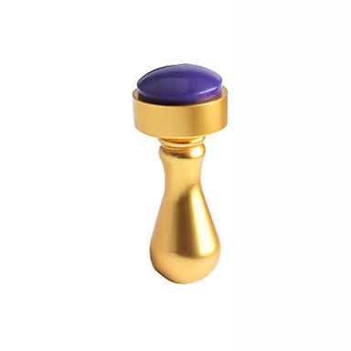 1 Adet tırnak sanat baskı araçları, metal çivi mühür altın gümüş damga mühürler