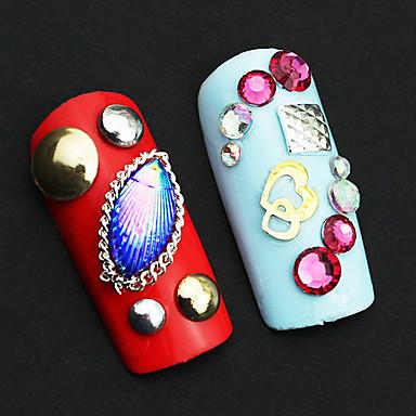 1pcs Decoración de uñas Las perlas de diamantes de imitación maquillaje cosmético Dise?o de manicura