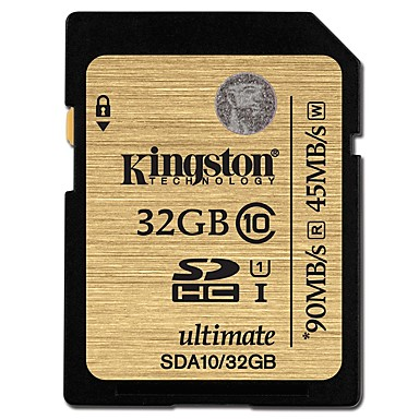 Kingston 32Gt SD kortti muistikortti UHS-I U1 Class10