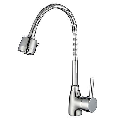 Kitchen Faucet - Moderni Kromi Standard nokka Pöytäasennus