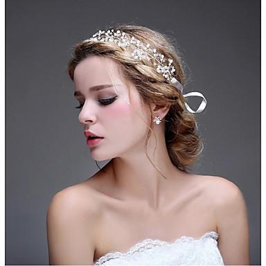 Tekohelmi Metalliseos Päänauhat Kukkaset Hair Stick Hiustarvikkeet Päähine