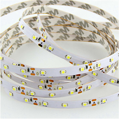 SENCART 5m Flexible LED-Leuchtstreifen 300 LEDs 3528 SMD Warmes Weiß / RGB / Weiß Schneidbar / Abblendbar / Verbindbar 12 V / Für Fahrzeuge geeignet / Selbstklebend