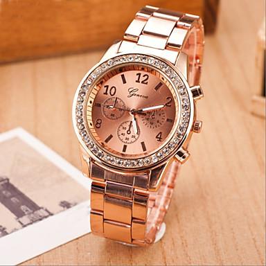 Women's Fashion Watch Quartz Casual Watch Alloy Band Elegant Silver Gold Rose Gold