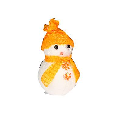 クリスマスデコレーション クリスマスパーティー用品 おもちゃ 雪だるま プラスチック フォーム 3 小品