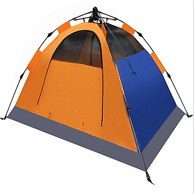 Soaring® 2 henkilöä Suojat ja pressut Teltta Kaksinkertainen teltta Yksi huone Automaattinen teltta Hyvin ilmastoitu Vedenkestävä Nopea