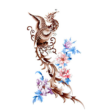 Tetovací nálepky Totemová řada Vzor Waterproof Dámské Girl Dospívající Flash Tattoo dočasné tetování