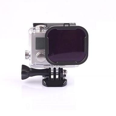 abordables Appareils Photos de Sports & Accessoires GoPro-Accessoires Dive Filtre Haute qualité Pour Caméra d'action Gopro 5 Gopro 3 Gopro 3+ Gopro 2 Sports DV Plongée Surf La navigation de