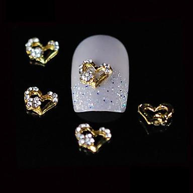 povoljno Umjetno drago kamenje&Dekoracije-Metal Nakit za nokte Za prst nožni prst Other Lijep nail art Manikura Pedikura Voće / Cvijet / Sažetak Dnevno / Crtići / Punk